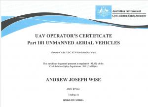 UOC Operators Certificate