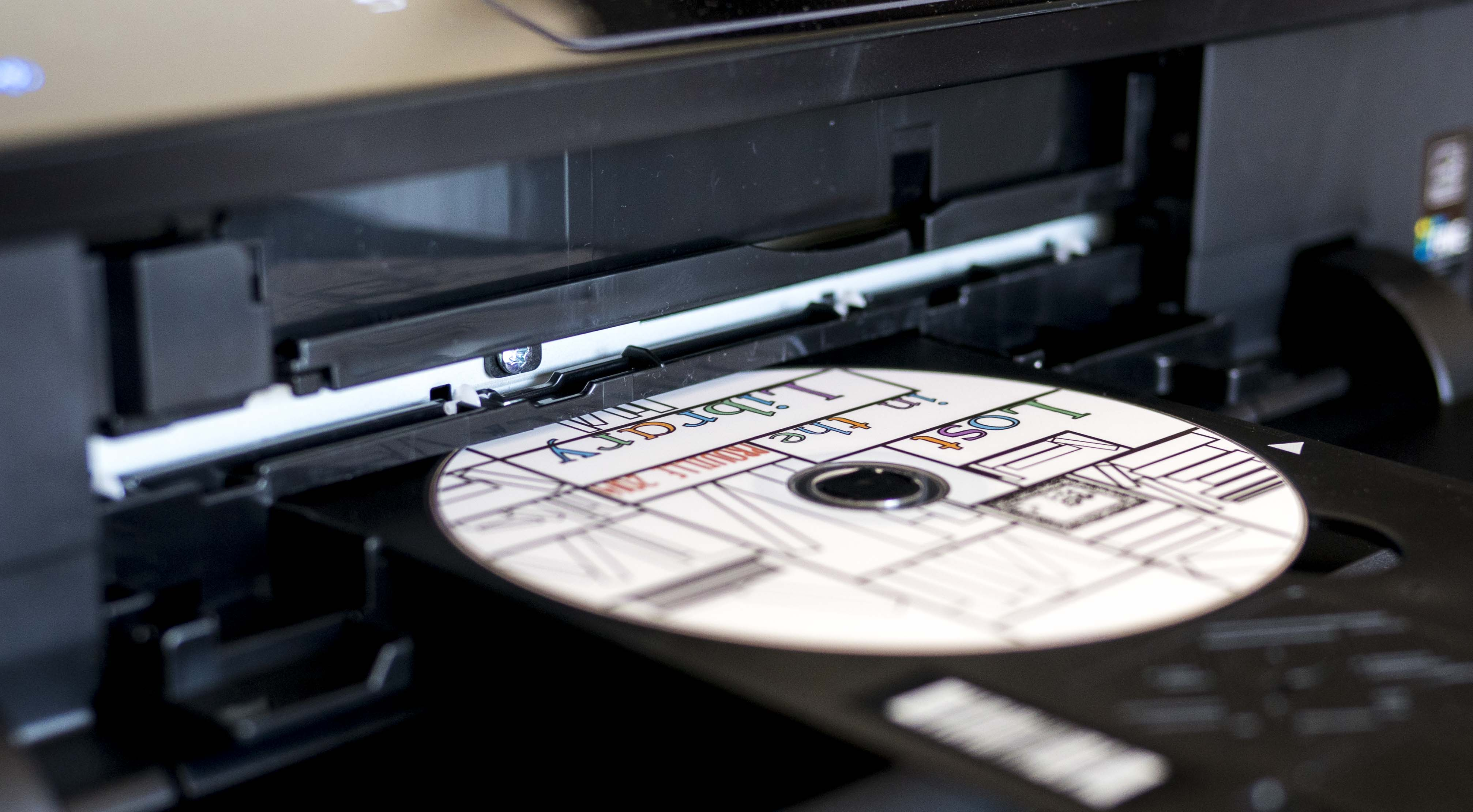 DVD Disk Inkjet Printing